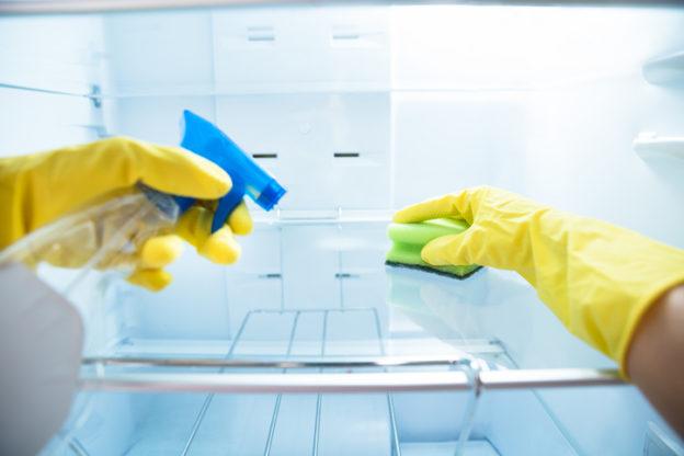guide till att rengöra kylskåpet
